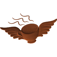 Winged Coffee Cup