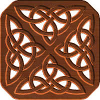 Celtic Knot Trivit 01