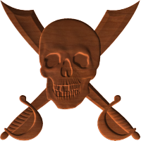 Skull and Cross Cutlass