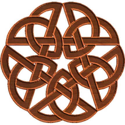 how to draw a celtic friendship knot