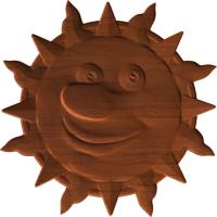 Sun Face 1 - A