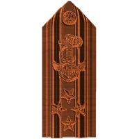 Four Star Admiral Shoulder board