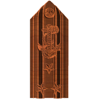 Three Star Vice Admiral Shoulder board