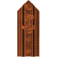 Military-2 Star Rear Admiral Shoulder board