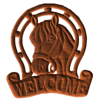 Horse Welcome 01