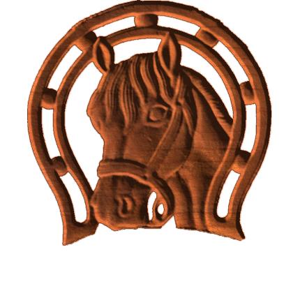 Horse Framed