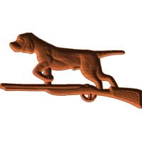 Dog on Gun