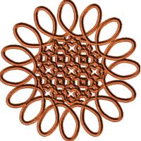 Swirl Rosette