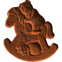 Bear on Rocking Horse
