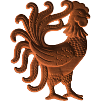 Decorative Rooster