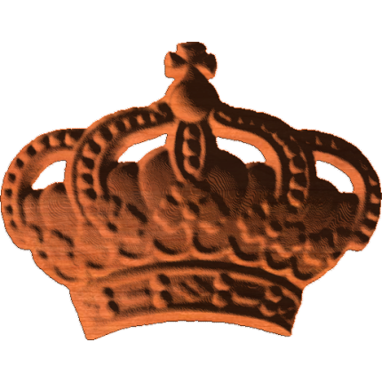 Crown With Cross 2