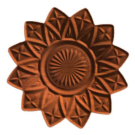 Dish & Flower 1
