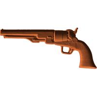 Ball and Cap Pistol - Left