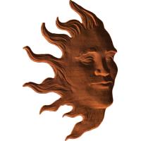 Face in Sun
