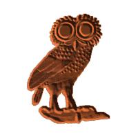 Roman coin obverse