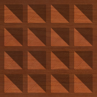 Square Pyramid Tile Pattern