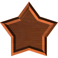 Star Frame or Border