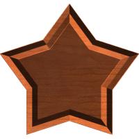 Star Frame or Border