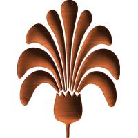 Fleur de lis 11 3D
