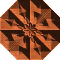 Octagon rosette 01