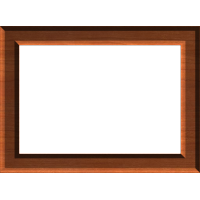 Beveled Rectangular Frame 002 A