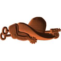 Western Hat Brand Spurs
