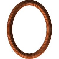 Stepped Oval Frame 002 A