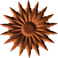 Sharp Daisy Rosette 003 A