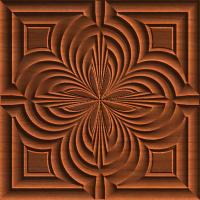 Clover Rosette Tile 003 A