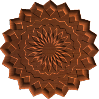 Rosette 20 Point 003 A