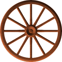 Stage Coach Wheel