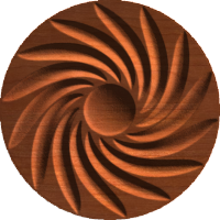 Whirlwind Rosette 008 A