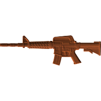 M16 Machine Gun 002