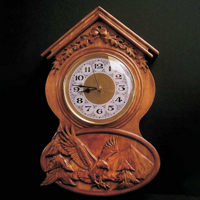 Wilderness Eagle Clock