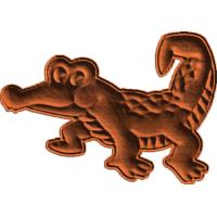 Friendly  Little Alligator