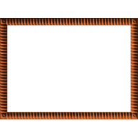 NeoClassic Ribbed Border or Frame 003 A