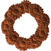 Daisies Frame Wreath
