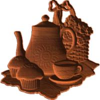Teapot Cupcake Basket