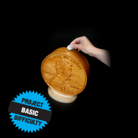 Lincoln Cent Coin Bank