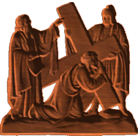 Station of the Cross - 3rd