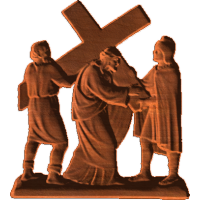 Station of the Cross - 5th