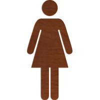 Female Restroom Symbol 1