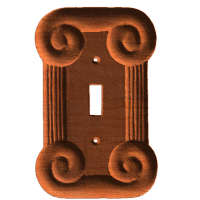 Cover single switch scroll
