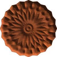 Classical Floral Centerpiece or Rosette 004 A
