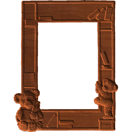 Picture frame with Teddy Bears.