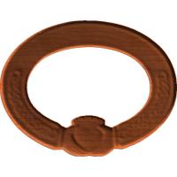 Claddagh Oval Frame