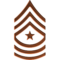 Army Rank E9 Sergeant Major