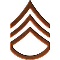 Army Rank E6 Staff Sergeant