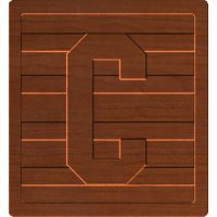 Block Letters C
