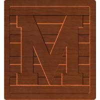 Block Letters M